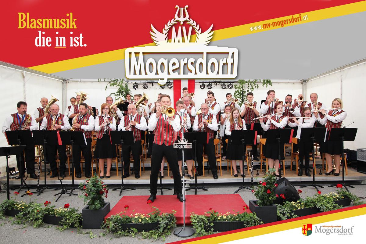Musikverein Mogersdorf, Blasmusik die in ist.